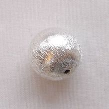 Silver Plated 12mm Round Beads - 1